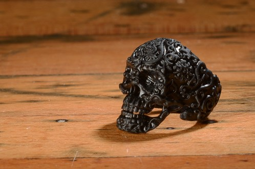 3D printed ring positive designed to be used in making jewelry molds.