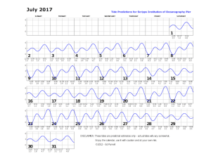 July 2017 tide chart
