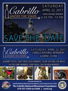 Cabrillo Under The Stars - April 22, 2017