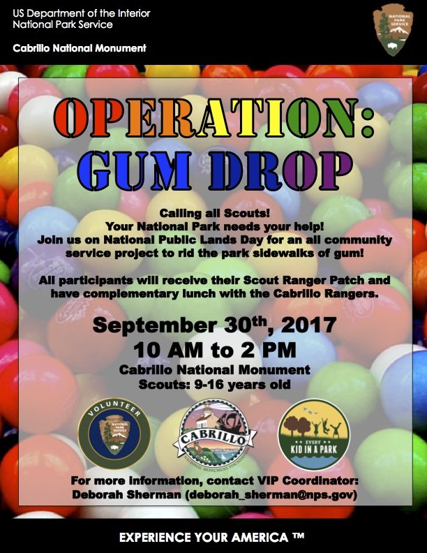 Operation Gum Drop