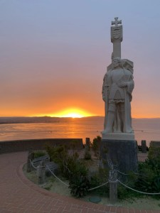 Cabrillo National Monument Scenic Sunset