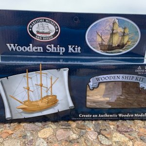 Maritime Museum of San Diego Wooden Ship Kit