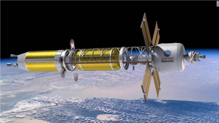 A nuclear powered missile .. Will the solution to send humans safely to Mars become faster?