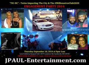 #TIC-DC-#MillionairesClub2020 Engagement Party
