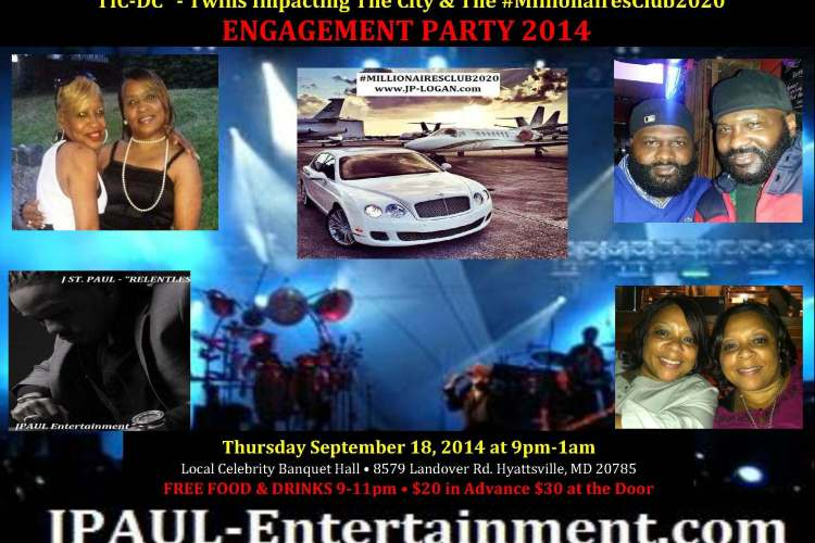 #TIC-DC-#MillionairesClub2020 Engagement Party