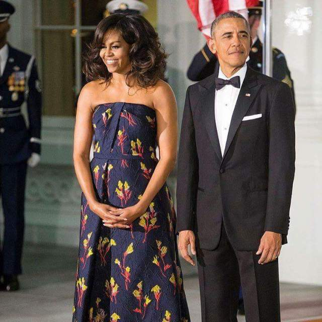 Barack and Michelle Obama CNN7
