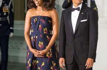 Barack and Michelle Obama CNN7