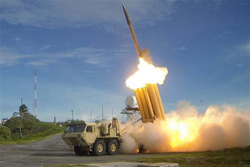 #USA #DOD #THAAD #Missile to #SouthKorea