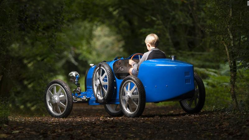 Bugatti Baby II, a $ 68,000 junior size car