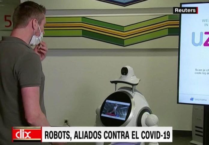 Robots, allies against covid-19