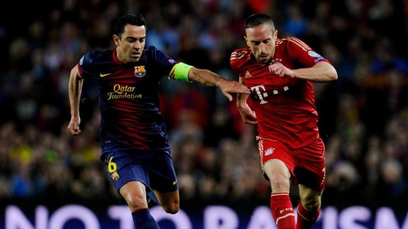 Barcelona vs.  Bayern: history from 7-0