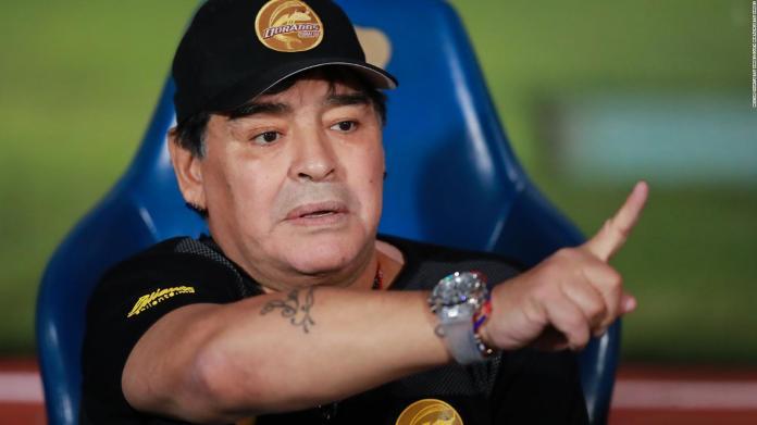 How did Maradona come to lead the Dorados de Sinaloa?