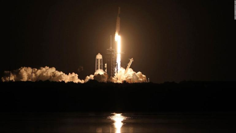 Historic NASA and Spacex launch