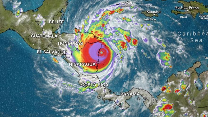 The catastrophic scourge of Hurricane Iota in Central America