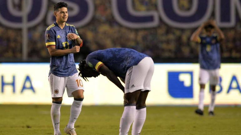 Qualifiers: Colombia worries and Venezuela evolves