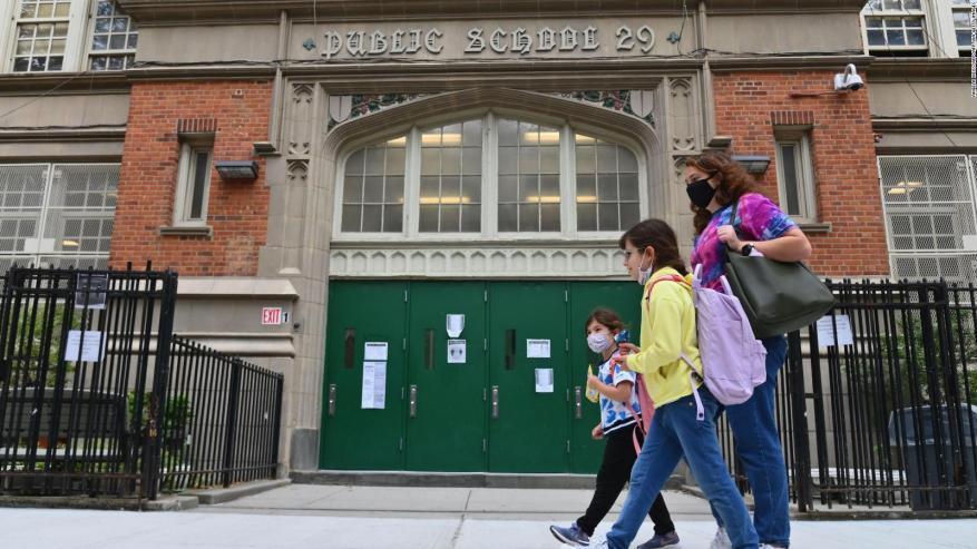 New York schools close due to advance of covid-19