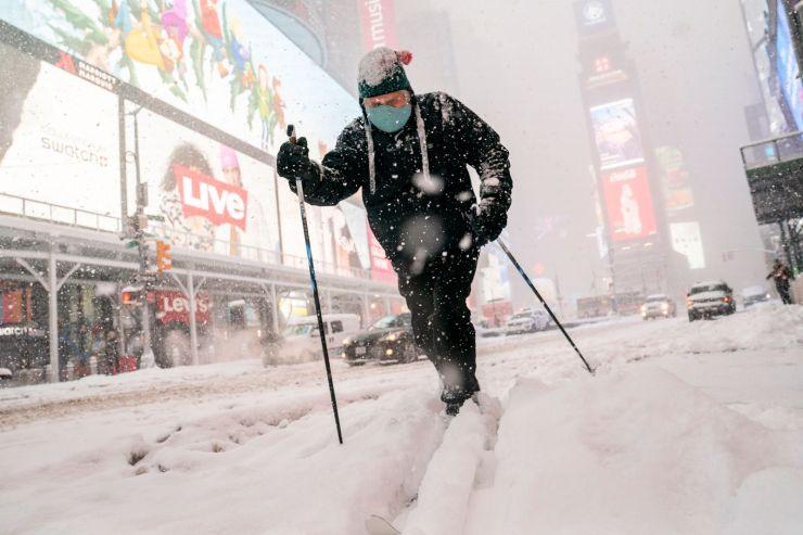Vórtice polar: todos los estados de EE.UU. tendrán temperaturas bajo cero
