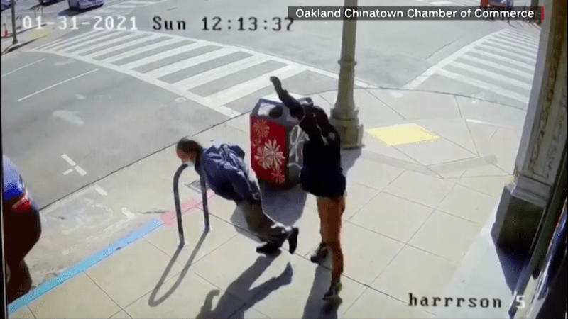 Attacks on Asians on the rise, some caught on video