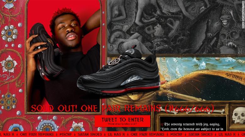 Satan Shoes Nike Lil Nas X