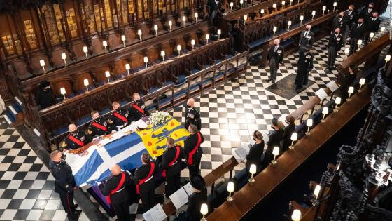 Solemn and intimate funeral for Prince Philip