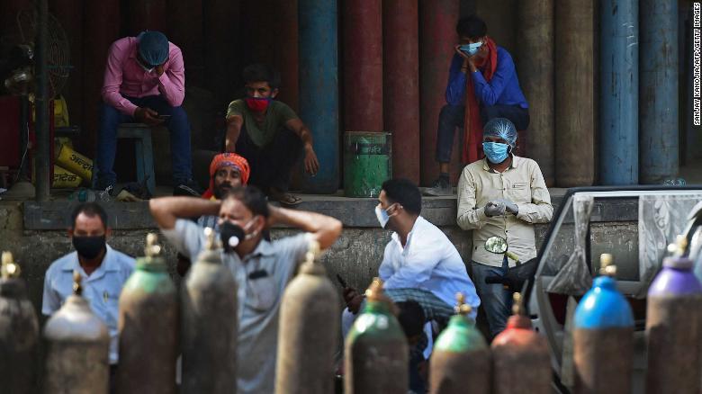 oxígeno India
