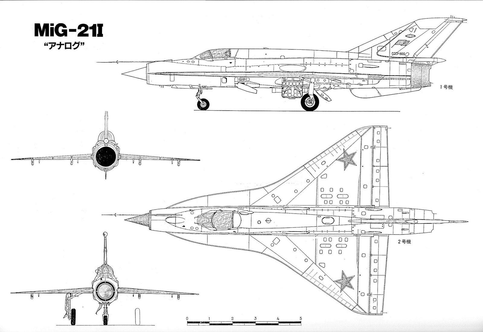 Mikoyan Gurevich Mig 21 Prototypes Amp Variants Design