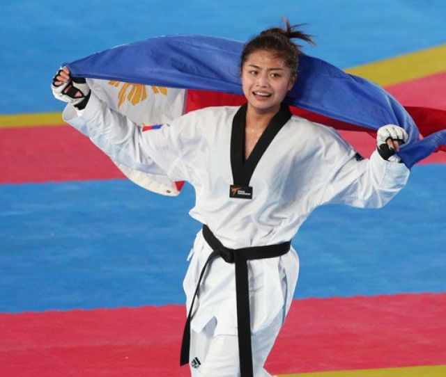 Sea Games Filipino Jins Pick Up Three Golds In Taekwondo