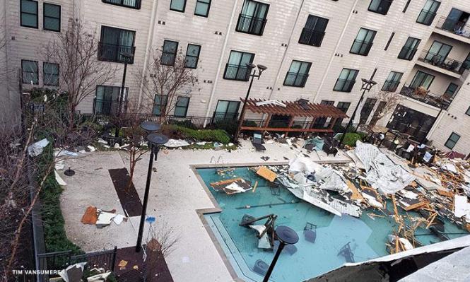 Tornado Ripped Through Tennessee