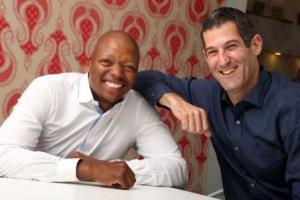Left to right - Mohale Ralebitso  Group Chairman and Brett Morris Group Chief Executive Officer -  Draftfcb South Africa