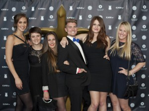AAA Cape Town Loerie Winners L to R: Phia Le Roux, Simone Pelser, Nicola Acquisto, Emijl de Kock, Jessica Gaertner, Jenna Flynn