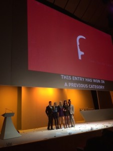 Shift Joe Public scooped three Golds and one Silver for Fonts of the Future.