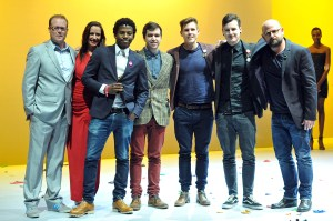 Left to right: Presenters, Nkanyezi Masango (Y&R CT: Creative Director), Graham Krige (Y&R CT: Copywriter), Gareth Owen (Y&R CT: Art Director) Rowan Foxcroft (Y&R CT: Art Director) and Graham Lang (Y&R SA: Chief Creative Officer).