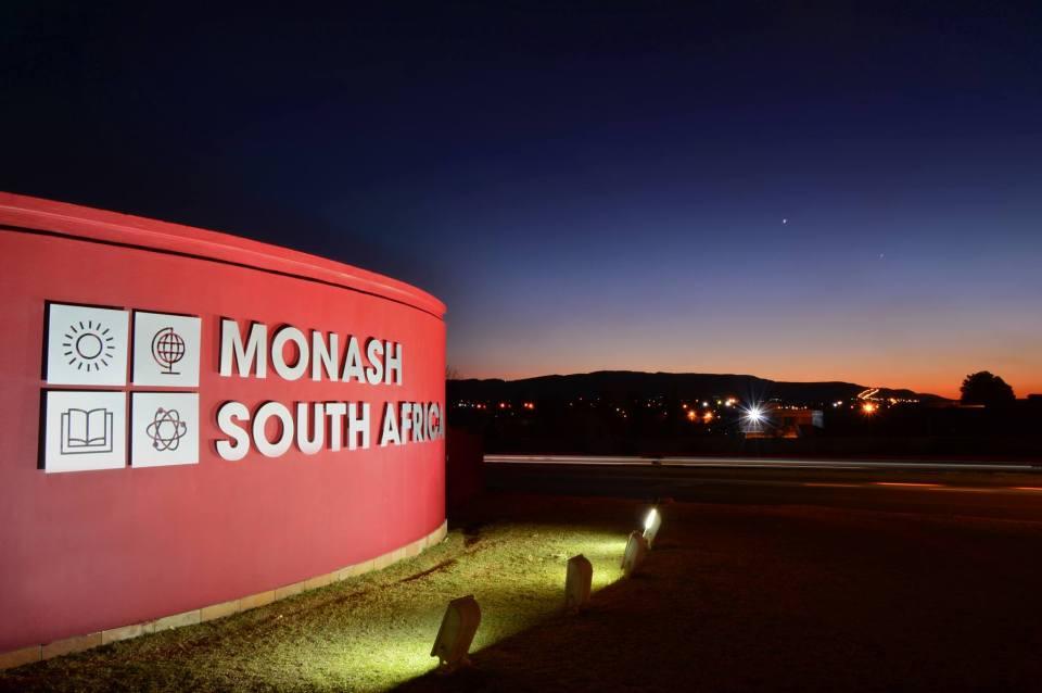 Monash University SA Entrance Wall