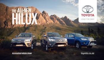 Toyota Hilux - New era of tough - hero shot