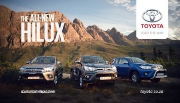 Toyota Hilux - New era of tough - hero shot