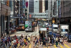 經濟下滑 香港樓價進入調整期