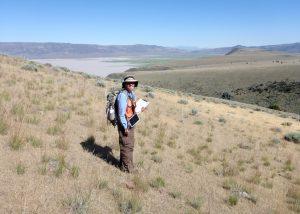 CNPS Veg Staff survey Thurber's needlegrass