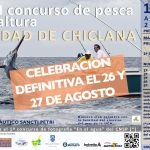 EL XVII CONSURSO DE PESCA DE ALTURA «CIUDAD DE CHICLANA» SE CELEBRARÁ POR FIN EL 26 Y 27 DE AGOSTO