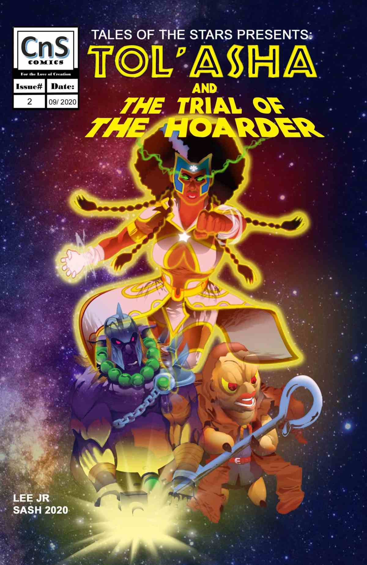 TOS Issue #2 Classic Cover. Art by Steven Sash Scott. Issue #2 is available in both print and digital.