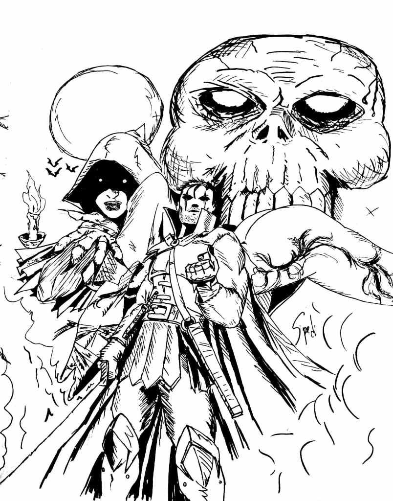 Dark Fantasy Issue #1 Cover Sketch