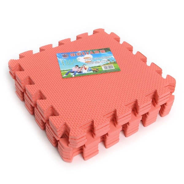 9pcs Eco Soft Foam Tile Interlocking Eva Floor Kids Play Puzzle Mat Gym Garage