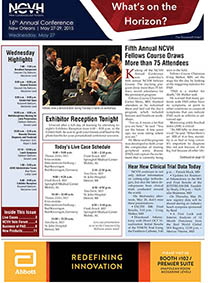 NCVH ISSUE 1  - NEW PAGE 1