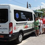 Charity donates non-emergency transporter to HSA