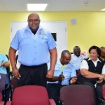 Customs officers acclaimed for zero sick days