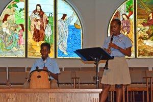 Savannah Primary students perform