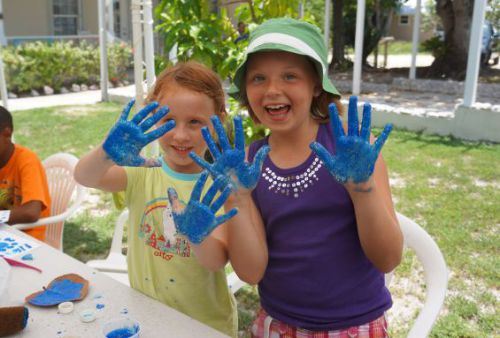 Cayman News ServiceYoungsters enjoy last summer's art camp on Cayman Brac