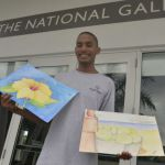 Outreach students display artwork at National Gallery