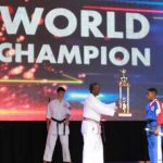 Purple Dragon team blazes at world championships