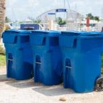 CI Yacht Club goes green with blue bins
