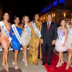 Miss Cayman contestants get their sashes on